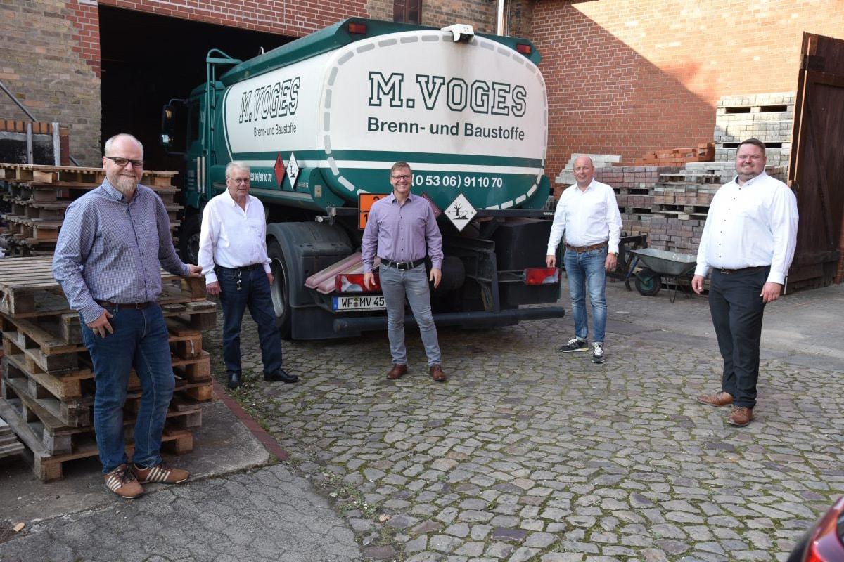 CDU Gemeindeverband und Bundestagsanwärter Holger Bormann unterwegs in der gemeinde Cremlingen