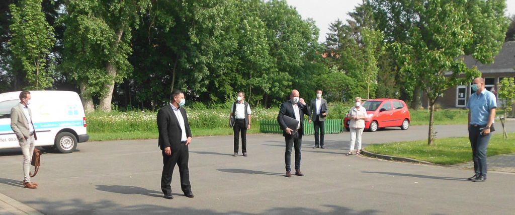 Bundestagskandidat besucht die Grotjahn-Stiftung