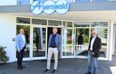 Holger Bormann Besuch bei Auerswald