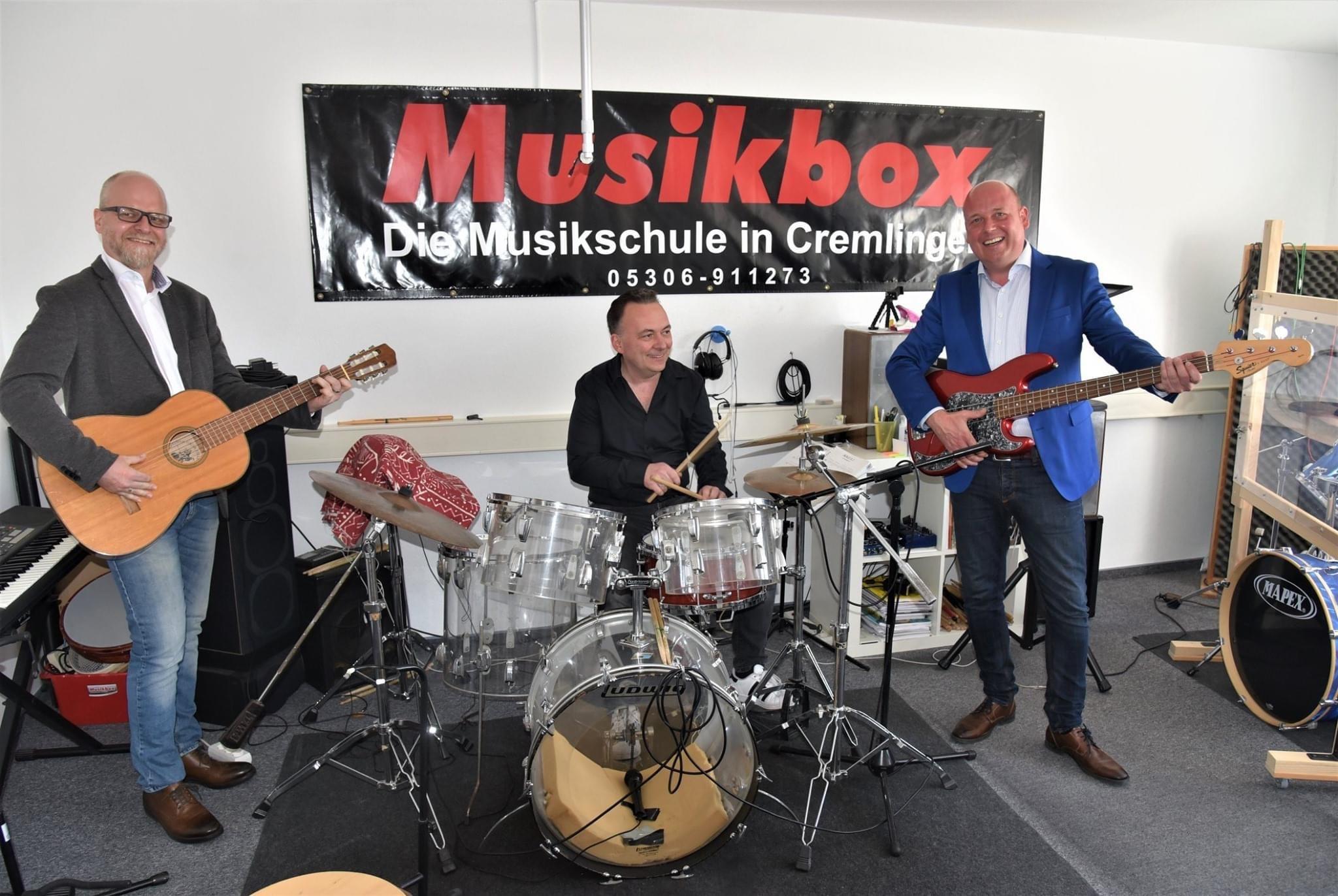 Holger Bormann Besuch bei der Musikbox