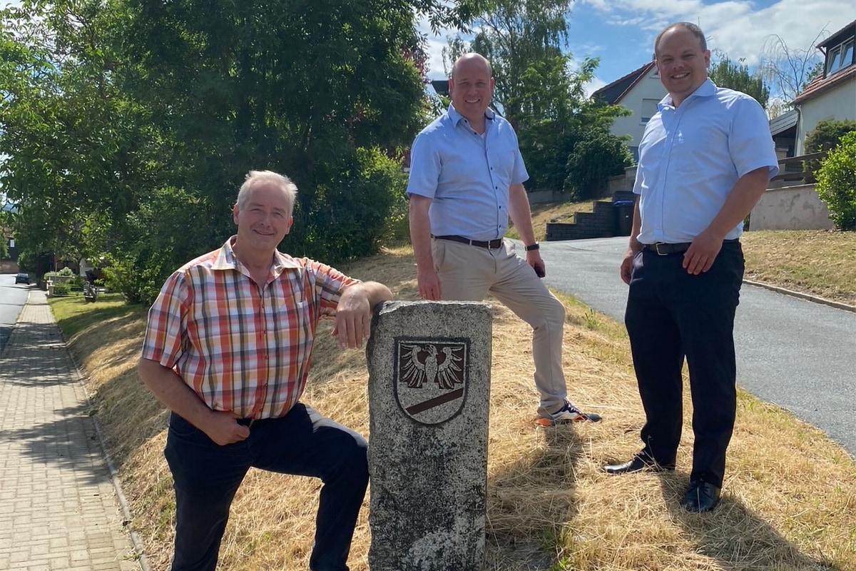 Holger Bormann besucht Werlaburgdorf