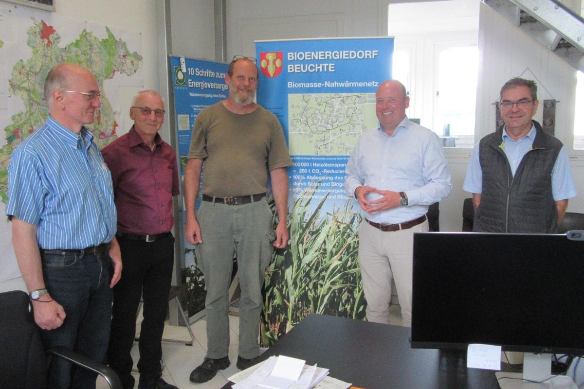 Holger Bormann - Besuch Biodorf