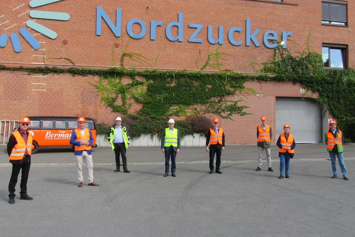 Holger Bormann - Besuch Nordzucker