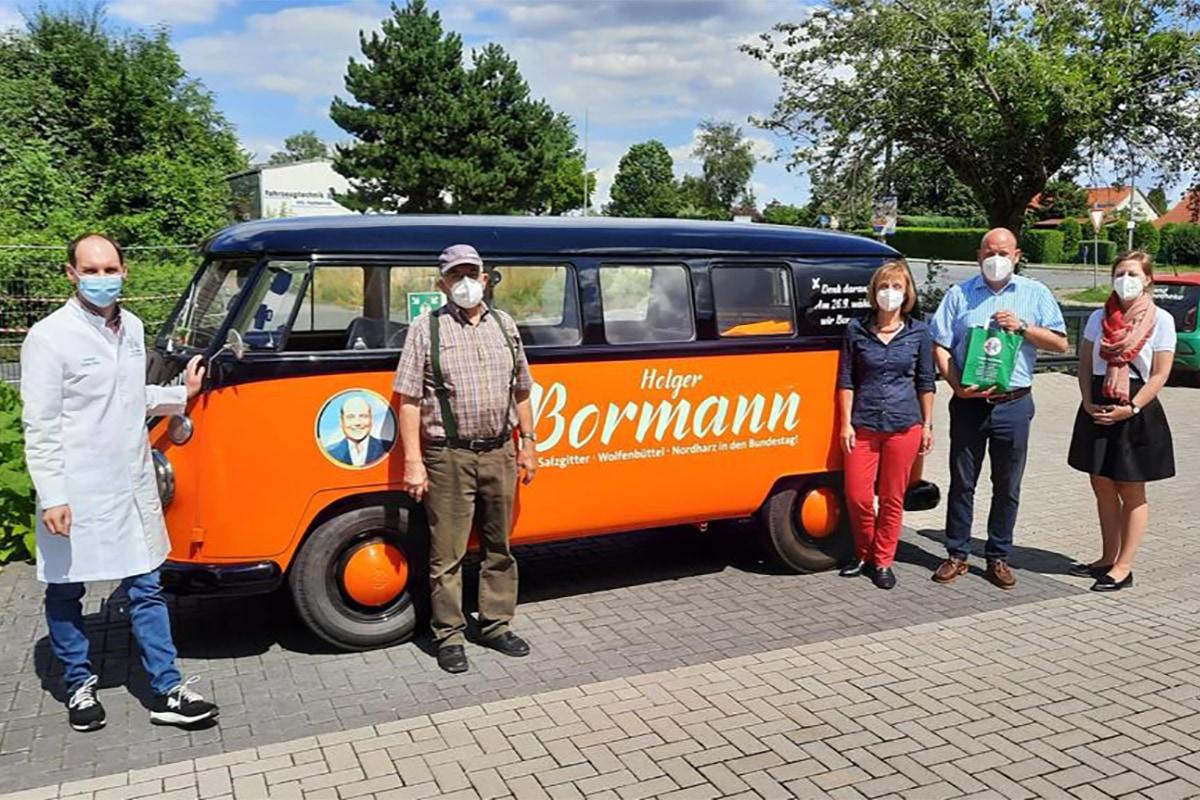 Holger Bormann - Besuch Landapotheke