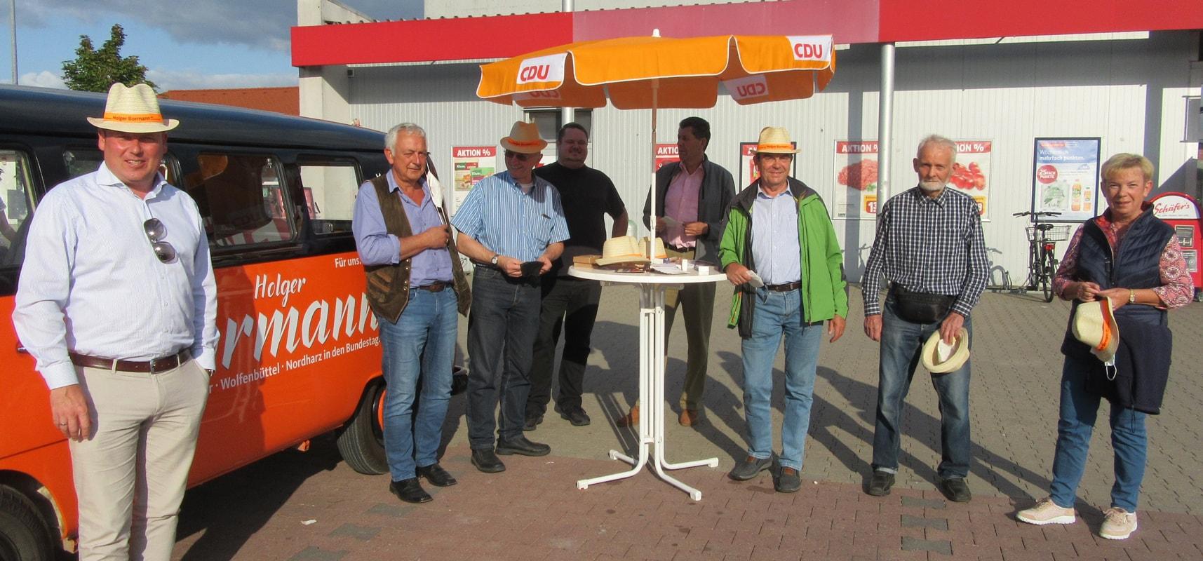 Holger Bormann - Besuch in Schladen