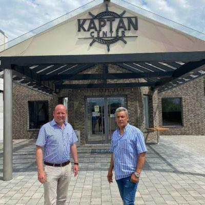 Holger Bormann zu Besuch Kaptan Döner GmbH
