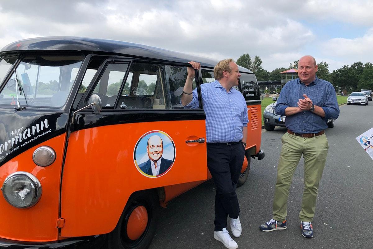 Holger Bormann - Besuch am Salzgittersee