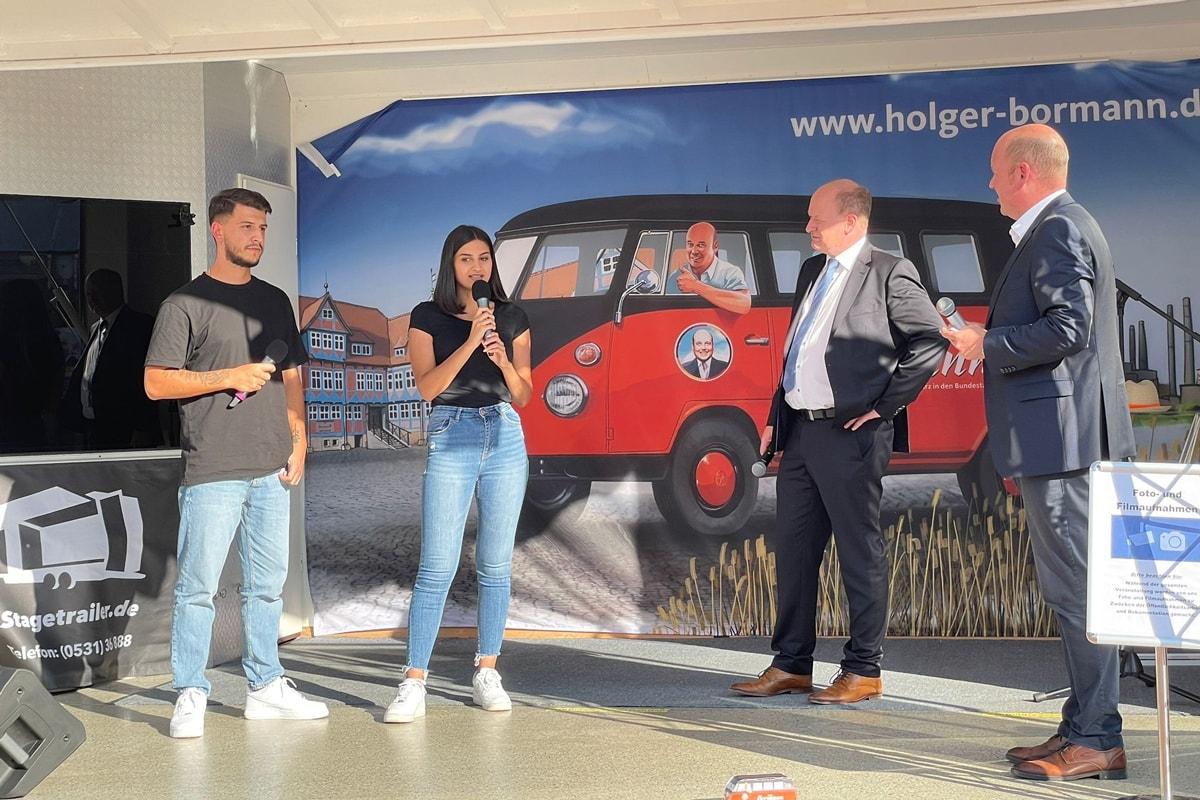 Holger Bormann - Besuch bei MAN